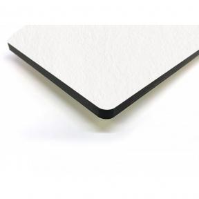 Стільниця HPL Compact FunderMax 0085 SX White, чорне ядро 12 мм