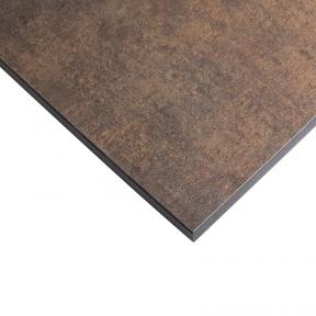 Стільниця HPL Compact FunderMax 0794 Enduro Patina Bronze  12мм, чорне ядро