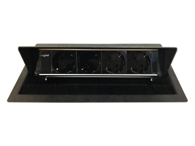 Maxbert Magnat Box вмонтований блок розеток 4*230V