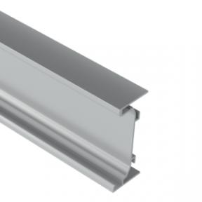 Zobal профіль горизонтальний тип C-LED для фасадів без ручок, 3500мм