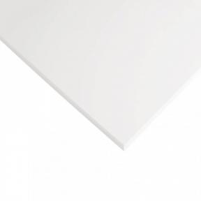 Стільниця HPL Compact FunderMax 0085 FH WC White, біле ядро, 12 мм, 4100*1854 мм