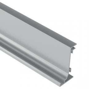 Zobal профіль горизонтальний тип L-LED для фасадів без ручок, 3500мм