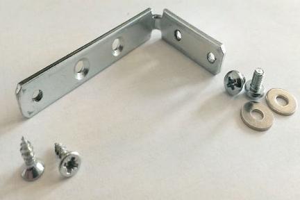 Кріплення-кутник V0215 для профиля GOLA 1004/1005 (комплект 2шт)