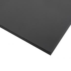 Стільниця HPL Compact FunderMax 0077 Fine Hammer Charcoal 12мм, чорне ядро