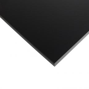 Стільниця HPL Compact FunderMax 0080 Fine Hammer Black 12мм, чорне ядро