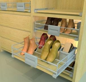 Wireli Висувна полиця для взуття Hogar Plus внутрішня