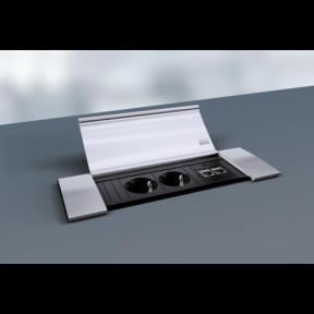 Bachmann Power Frame Cover вмонтовані модульні розетки