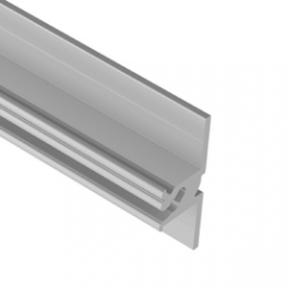 Zobal профіль настінний для плитки 15мм, довжина 3500мм, алюміній