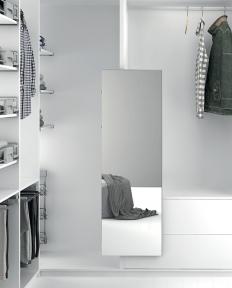 Wireli Висувне поворотне дзеркало, рама алюміній