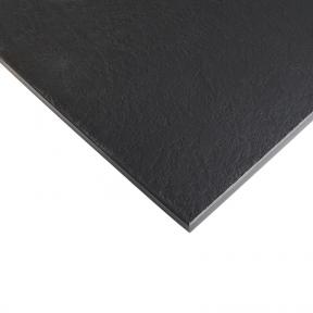 Стільниця HPL Compact FunderMax 0080 IPSX (Saxum) Black 12мм, чорне ядро