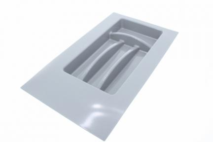 Opes Вклад для столових приладів, сірий пластик