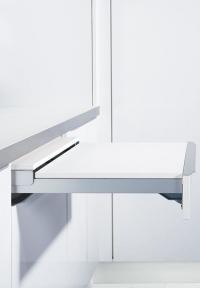 Механізм для висувних столів TOPFLEX висув на 810 мм, глибина ящика 500 мм, навантаження 30 кг