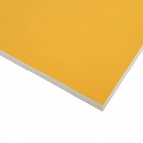 Стільниця HPL Compact FunderMax 0010 FH WC Mango, біле ядро, 12 мм, 4100*1854 мм