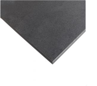 Стільниця HPL Compact FunderMax 0566 Fine Hammer Kara 12мм, чорне ядро