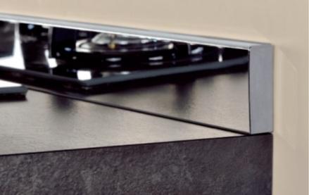 Плінтус кухонний, висота 40 мм., колір 809 зеркальный