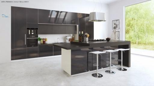 Акрилові фасади NIEMANN Acrylux серія Premium Mat Metalik