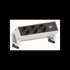 Bachmann Desk 2 модульні розетки з кріпленням до столу